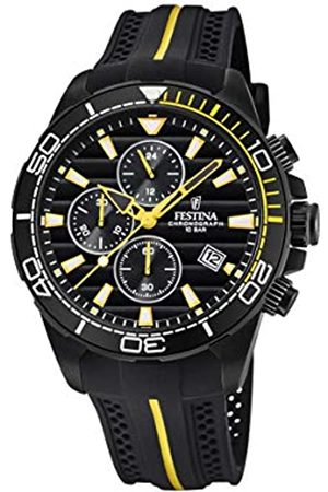 Festina Festina Herren Chronograph Quarz Uhr mit PU Armband F20366/1