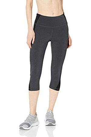 Amazon Amazon Essentials Colorblock Performance Mid-Rise Capri Leggings