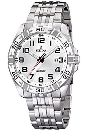 Festina Festina Herren Analog Quarz Uhr mit Edelstahl Armband F16495/1