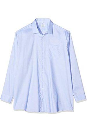 Seidensticker Herren Business - Herren Einfarbiges Hemd Mit Kent-Kragen Und Struktur – Regular Fit – Langarm Businesshemd