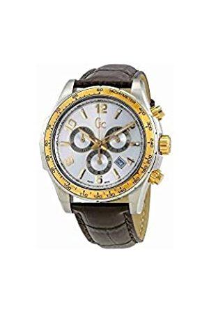 Guess Guess Herren Chronograph Quarz Uhr mit Leder Armband X51005G1S