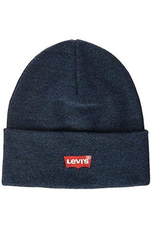Levi's Levi's Levis Footwear and Accessories Herren RED Batwing Embroidered Slouchy Beanie Strickmütze