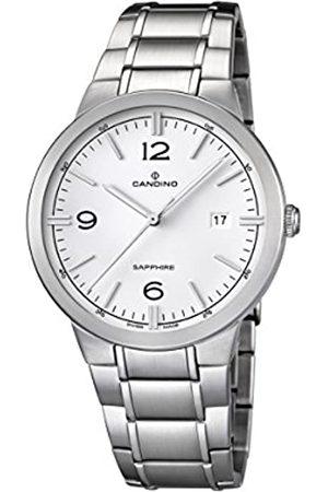 Candino Candino Herren Analog Quarz Uhr mit Edelstahl Armband C4510/1