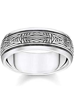 Thomas Sabo Thomas Sabo Unisex-Ring Ornamente 925 Sterlingsilber TR2277-637-21-50