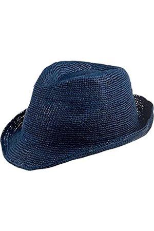 CAPO CAPO Unisex Fedoras Rio Melange Hat, Blau (Blue Lagoon 14)