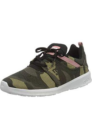 DC DC Shoes Damen Heathrow TX SE Sneaker, Mehrfarbig (Camo Black Kco)