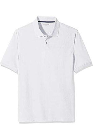 Amazon Amazon Essentials Regular-Fit Cotton Pique Polo Shirt Poloshirt, White