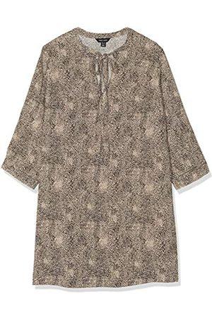 New Look Damen T DOT Animal LS TIE NK Tunic Hemd