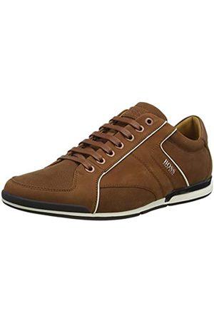 HUGO BOSS BOSS Herren Saturn_Lowp_nupf Sneaker, Braun (Medium Brown 212)
