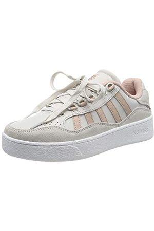 K-Swiss Unisex-Erwachsene Niedrig Sneaker SOTO, (White Sand/Cameo Rose 195)