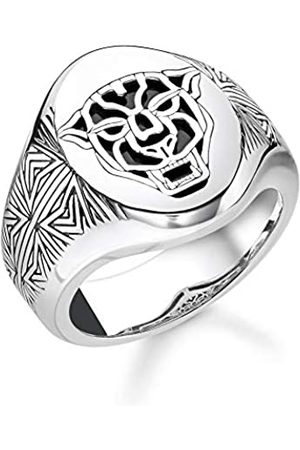 Thomas Sabo Thomas Sabo Unisex-Ring Black Cat 925 Sterlingsilber TR2273-698-11-56