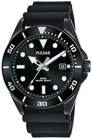 Pulsar PULSAR Herren Analog Quarz Uhr mit Silicone Armband PG8299X1
