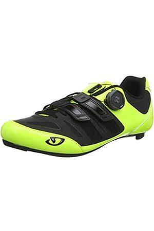 Giro Giro Herren Sentrie Techlace Road Radsportschuhe - Rennrad, Mehrfarbig (Highlight Yellow/Bla 000)