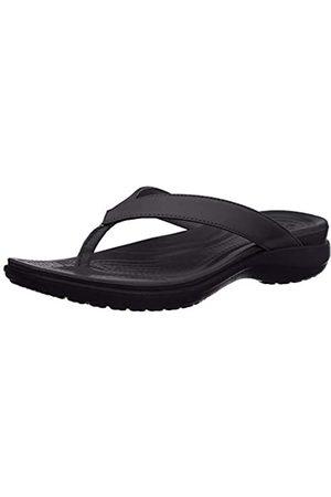 Crocs Damen Capri V Flip Flop (black/graphite)