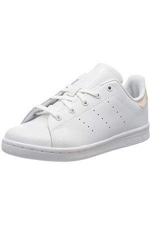 adidas Adidas Unisex-Kinder Stan Smith C Gymnastikschuh, FTWR Weiß/FTWR Weiß/Core Schwarz