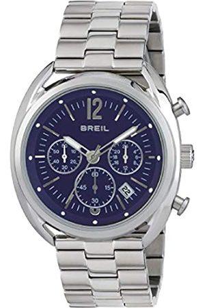 Breil Armbanduhr BREIL Mann BEAUBOURG quadrante blau e uhrarmband in Stahl