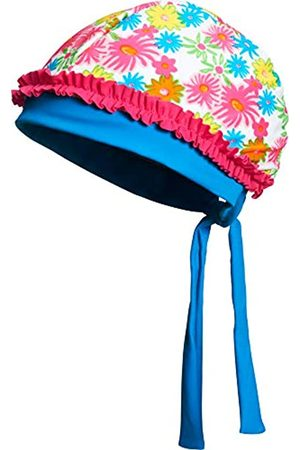 Playshoes Playshoes Mädchen UV-Schutz Kopftuch Blumenmeer Mütze