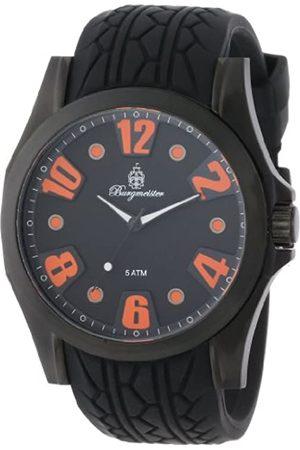 Burgmeister Burgmeister Herren-Armbanduhr XL Analog Quarz Silikon BM606-622B