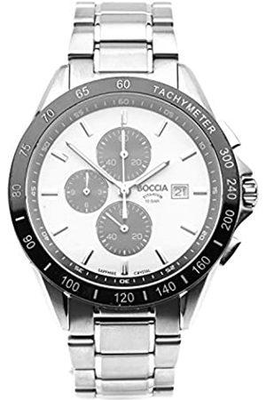 Boccia Boccia Herren Chronograph Quarz Uhr mit Titan Armband 3751-03