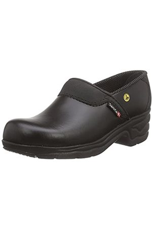 Sanita Sanita Workwear Unisex-Erwachsene Closed-OB Clogs, Schwarz (Black 2)