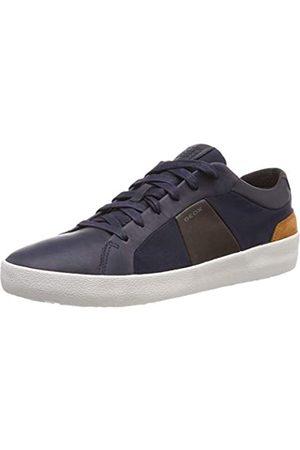 Geox Geox Herren U WARLEY B Sneaker, Blau (Navy/Coffee C4339)