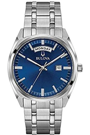 BULOVA Bulova Herren Analog Quarz Uhr mit Edelstahl Armband 96C125