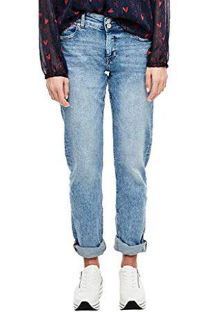 s.Oliver S.Oliver RED LABEL Damen Regular Fit: Straight leg-Jeans medium blue 46.32