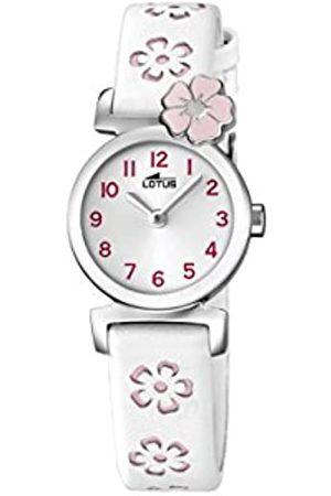 Lotus Lotus Mädchen Analog Quarz Uhr mit Leder Armband 18174/2