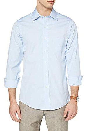 Brooks Brothers Herren Camicia Milano Taschino Manica Lunga Businesshemd