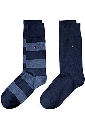 Tommy Hilfiger Herren TH MEN RUGBY 2P Socks Socken