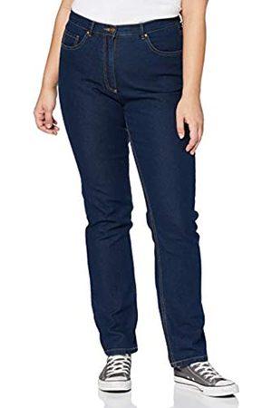 Ulla Popken Große Größen Damen Straight Jeans Regular Fit Stretch