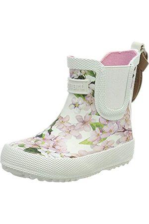 Bisgaard Bisgaard Mädchen Rubber Boot Baby Gummistiefel, Pink (Creme-Flowers 171)