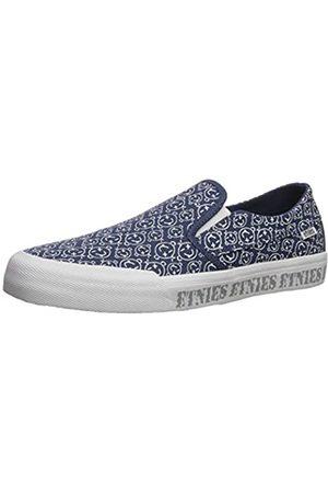 Etnies Etnies Langston, Unisex-Erwachsene Skateboardschuhe, Blau (472-Navy/White 472)