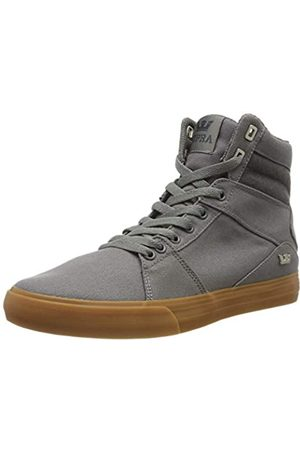 Supra Supra Unisex-Erwachsene Aluminum Hohe Sneaker, Grau (Charcoal-Gum-M 26)