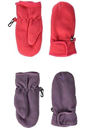Name it NAME IT Mädchen NMFMAR Fleece 2P Mitten FO Handschuhe