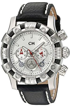 Carlo Monti Carlo Monti Herren-Armbanduhr XL Arezzo Chronograph Quarz Leder CM122-112