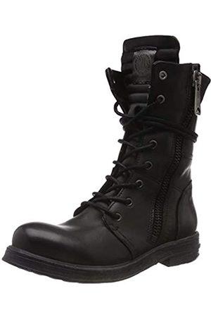 Replay Damen Evy Biker Boots, (Black 3)