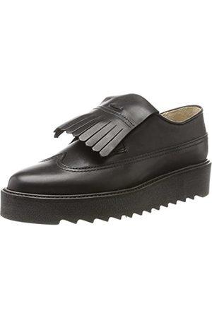 Marc O' Polo Marc O'Polo Damen Lace Up Shoe 70814243402125 Slipper, Schwarz (Black)