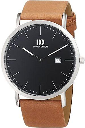 Danish Design Danish Design Herren Analog Quarz Uhr mit Leder Armband 3314525