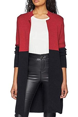 Morgan Women's Gilet Long MBLOCK Cardigan Sweater