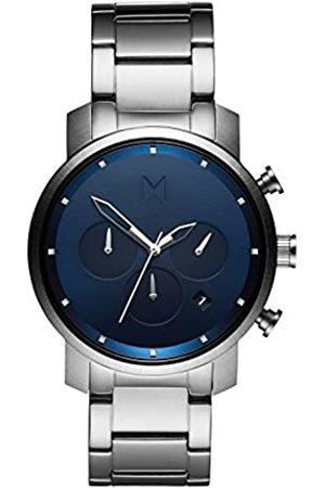 MVMT MVMT Herren Chronograph Quarz Uhr mit Edelstahl Armband D-MC02-SBLU