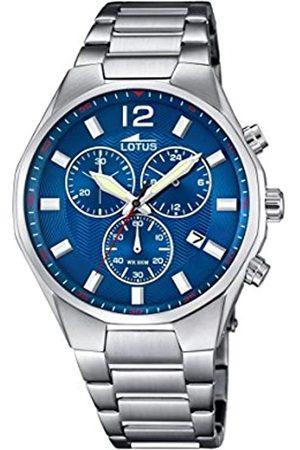 Lotus Lotus Herren Analog Quarz Uhr mit Edelstahl Armband 10125/3