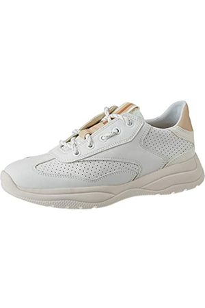 Geox Geox Damen D SMERALDO A Sneaker, Weiß (White C1000)