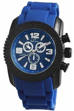 Shaghafi Shaghafi Herren Analog Quarz Uhr mit Kautschuk Armband 227473000006