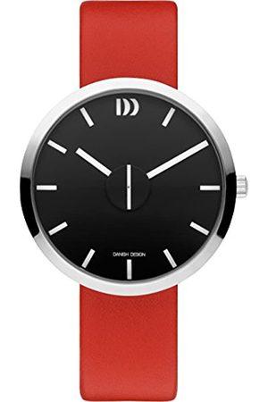 Danish Design DanishDesignUnisexErwachseneAnalogQuarzUhrmitLederArmbandIQ24Q1198