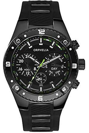 Orphelia Herren-Armbanduhr Boulder Country Multi Dial Quarz Silikon