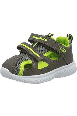 KangaROOS KangaROOS Unisex Baby KI-Rock Lite V Sneaker, Grau (Steel Grey/Lime 2014)