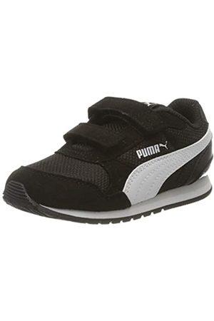 Puma Puma Unisex Baby St Runner V2 Mesh V Inf Sneaker, Schwarz Black White-Gray Violet