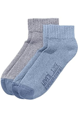 Levi's Herren LEVIS 120SF MID CUT 2P Socken
