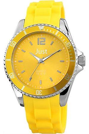 Just Watches Just Watches Unisex-Armbanduhr Analog Quarz Kautschuk 48-S3862-YL